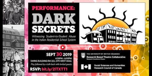Dark Secrets: A Staged Reading