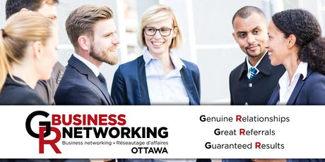Ottawa Business Networking in Downtown Ottawa tickets