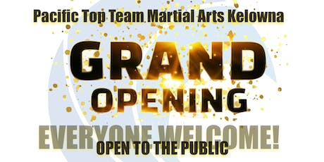 Pacific Top Team Ten Year Anniversary & Grand Opening tickets
