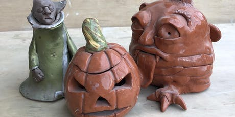 Sunday fun-day with clay: Spooky edition. tickets