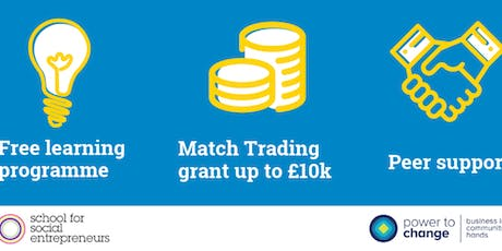 Community Buiness Trade Up Programme & Grant tickets