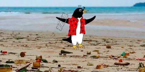 Life's a (plastic-free) beach