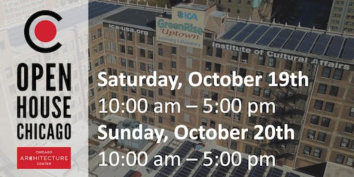 ICA GreenRise on Open House Chicago 2019