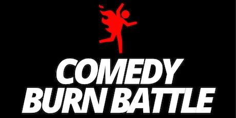 Comedy Burn Battle - Live Standup Comedian Roast Contest tickets