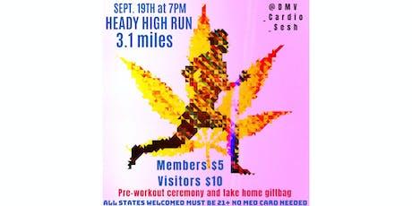 HEADY HIGH RUN 5K Sept 19th 7PM tickets