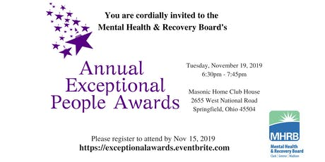 Annual Exceptional People Awards 2019 tickets