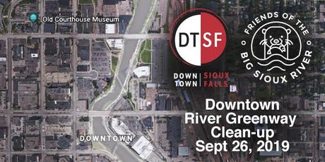 Downtown River Greenway Clean-up Sept, 26 2019 tickets