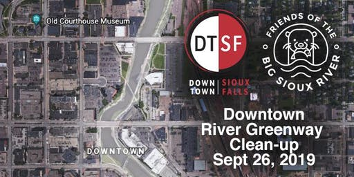 Downtown River Greenway Clean-up Sept, 26 2019
