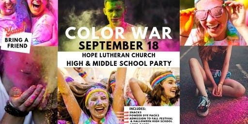 Youth Color War