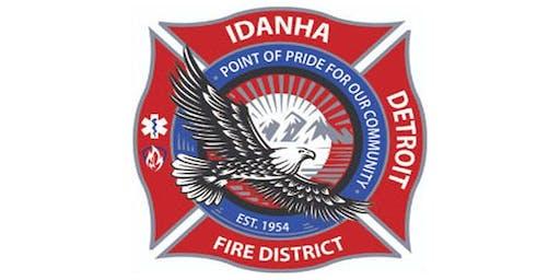 Idanha-Detroit Fire TIM Training