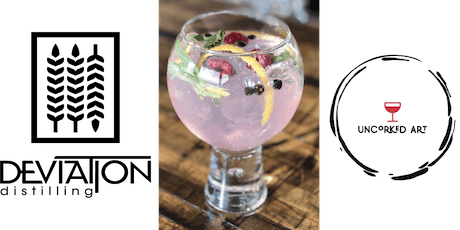 Glass Painting and Cocktails at Deviation Distilling tickets