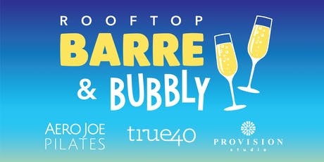Barre & Bubbly - The Roof at The Redmont Fall Workout Series tickets