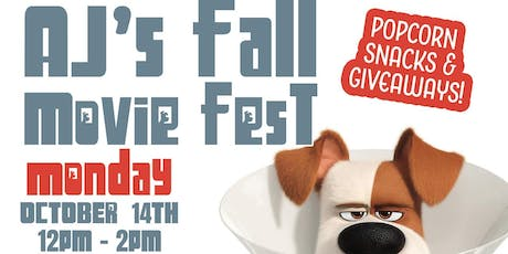 AJs Kid's Fall Movie Fest tickets