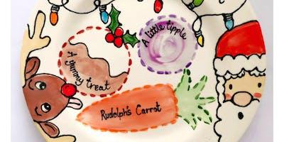 Christmas Eve Plate Painting @ The Mocha Lounge