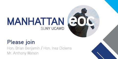 Manhattan EOC Community Engagement tickets