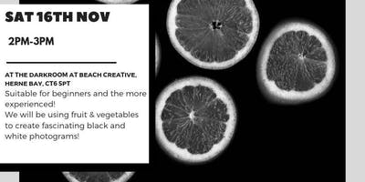 Photogram: Fruit & Vegetables!