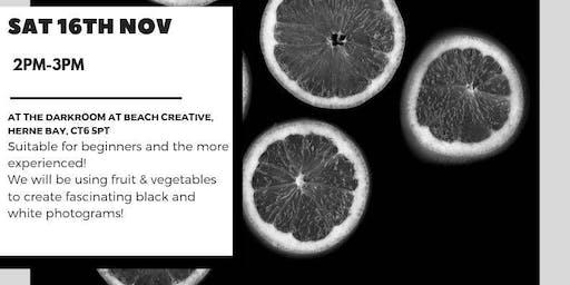 Photogram: Fruit & Vegetables!