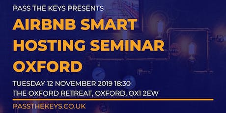 Airbnb Smart Hosting Seminar - Oxford tickets