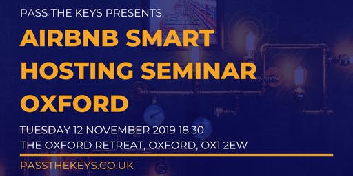 Airbnb Smart Hosting Seminar - Oxford