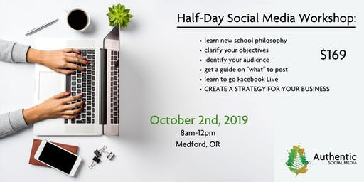 Half Day Social Media Workshop with Lauren Trantham - October 2nd
