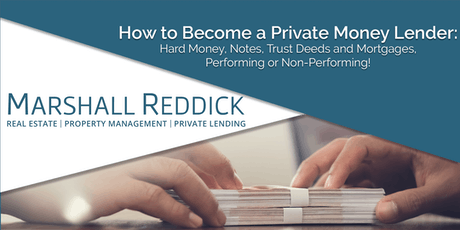 How to Become a Private Money Lender tickets