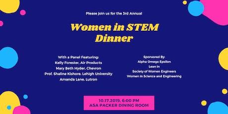 Women In STEM Dinner tickets