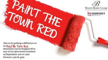 Paint the Town Red Open Houses