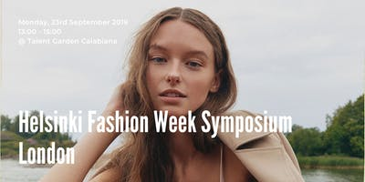 Helsinki Fashion Week Symposium in Milan
