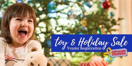 NE Metro JBF 2019 Toy & Holiday Sale - Vendor Registration tickets