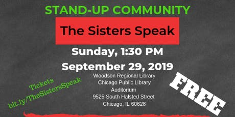 Stand-Up Community: The Sisters Speak tickets