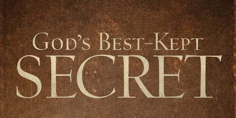 God's Best-Kept Secret Conference - Charlotte or Online-Live tickets