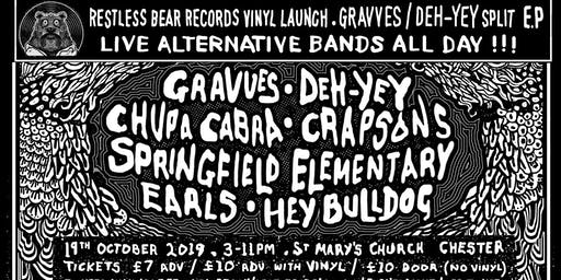 Gravves / Deh-Yey Split EP Launch All Dayer