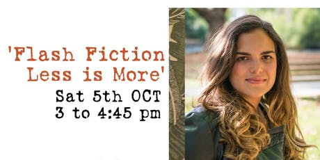 Flash Fiction: Less is More | The London Spanish Book & Zine Fair tickets