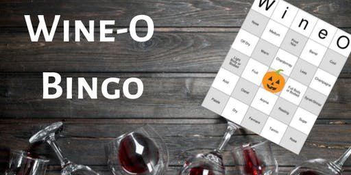 Wine-O Bingo Halloween Party!