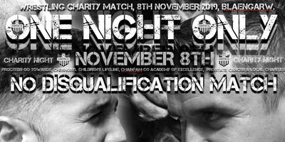 ONE NIGHT ONLY - Gregory Sage VS Garry Sage - Charity Wrestling Event!
