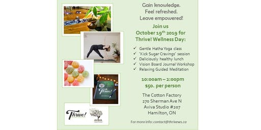 Thrive! Wellness Day