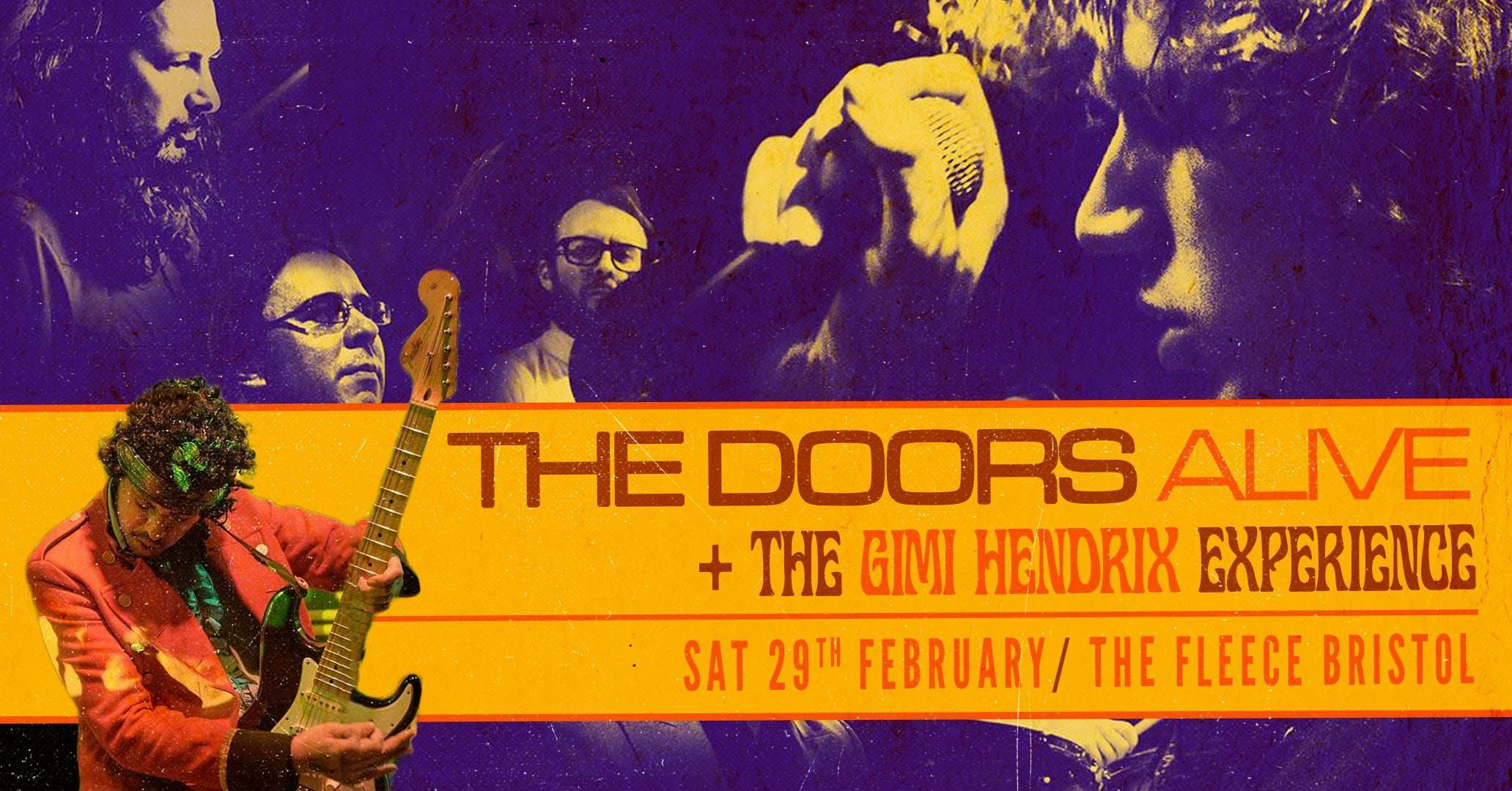 The Doors Alive  The Gimi Hendrix Experience
