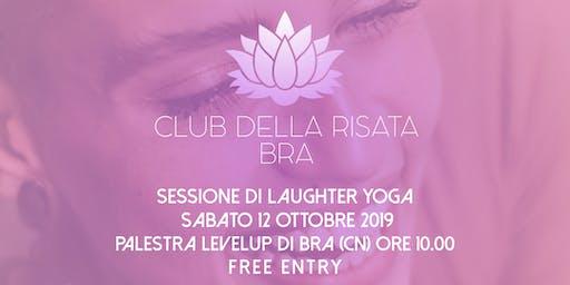 Club della Risata - Bra - Sessione gratuita - Sabato 12 ottobre 2019