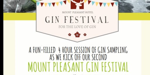 Mount Pleasant Gin Festival - Session 2