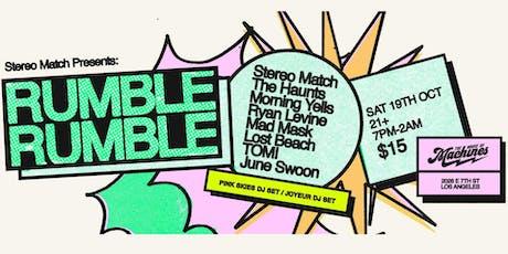 Rumble Rumble Fest tickets