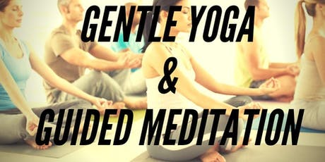GENTLE YOGA AND GUIDED MEDITATION-GILDA'S CLUBHOUSE tickets