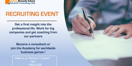 Recruiting event - SCC tickets