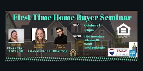 FREE Home Buying & Financial Seminar  tickets