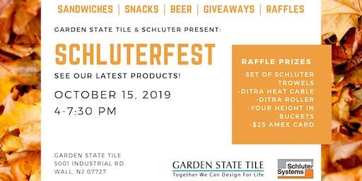 Garden State Tile & Schluter Present: Schluterfest