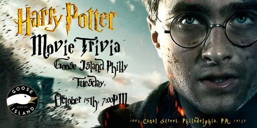 Harry Potter Movie Trivia at Goose Island Philly