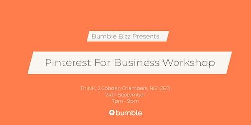 Bumble Bizz Pinterest for Business Workshop