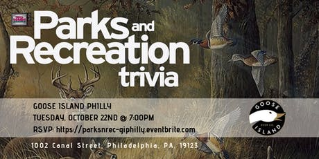 Parks & Rec Trivia at Goose Island Philly tickets