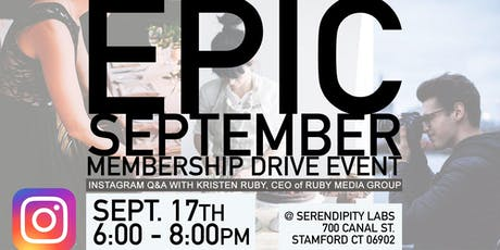 EPIC Membership Drive & Instagram Q&A Discussion tickets