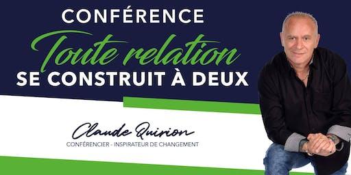 St-Georges, Conférence :  Toute relation se Construit à DEUX !