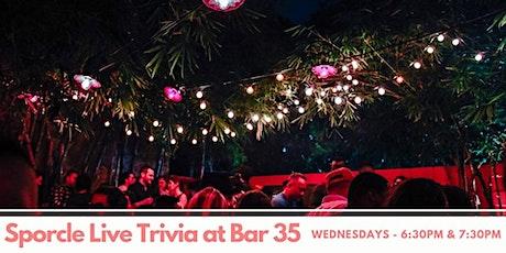 Wednesday Night Trivia at Bar35! tickets